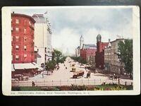 Vintage Postcard>1901-1907>Pennsylvania Avenue from Treasury>Washington, D.C.