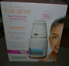 Conair True Glow Sonic Facial Brush with UV Sterilizer - Brand New | Sealed Box