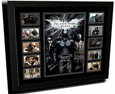 THE DARK KNIGHT RISES BALE & HARDY SIGNED LIMITED EDITION FRAMED MEMORABILIA