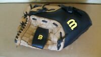 "Wilson A360 Leather over sized pocket Softball Glove 13"" A0360 Right Thrower"