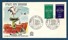 FRANCE - FRANCIA - 1959 - Europa - FDC