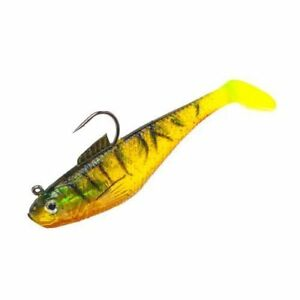 "Berkley Powerbait Firetiger Pre-Rigged Swim Shad 3"" Soft Fishing Lure ~ 5 Ct"