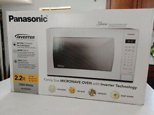 Unopened Panasonic SN946W 2.2 Cu. Ft. Countertop Inverter Microwave Oven - White