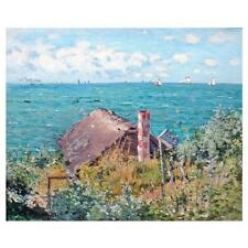 CLAUDE MONET PEINTURE The CABINE À SAINTE ADRESSE