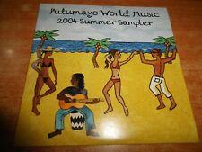 PUTUMAYO WORLD MUSIC 2004 CD ALBUM PROMO ESPAÑA ROSALIA DE SOUZA KAD ACHOURI