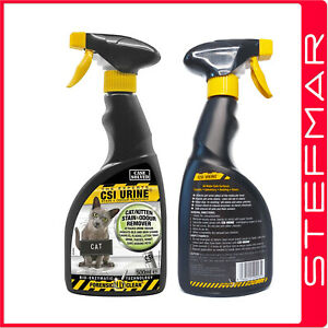 CSI Urine Cat and Kitten Stain and Odour Remover 500ml - urine off