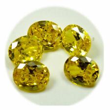 Natural 5.50 Carat Oval Shape Yellow Cambodia Zircon Best Quality Gemstone