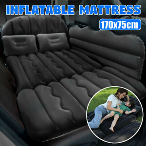 Back Rear Seat Car Air Bed Rest Foldable Mattress Travel Camping Inflatable