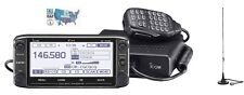 Icom ID-5100A Deluxe VHF/UHF D-STAR Radio with Comet Mag-Mount Mobile Antenna