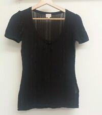 Whistles Purple Top Size 1 Knitwear <J6024