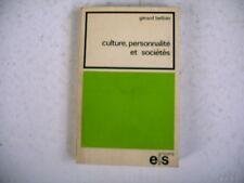 CULTURE PERSONNALITE SOCIETES G. Belloin dédicace auteur