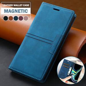 For Xiaomi Redmi Note 10 9S Pro Mi 11 Poco X3 NFC Case Leather Wallet Card Cover