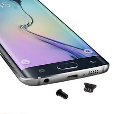 Staub Schutz Kopfhörer Kappe USB Stöpsel für Samsung Galaxy A7 2018 SM-A750F