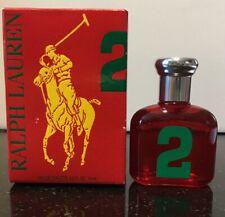POLO BIG PONY # 2 RALPH LAUREN .5 oz EDT Splash Mini Womens Perfume