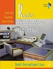Radio Produktion worktext: Studio und Geräte, Vierte Auflage (Buch & CD-ROM)