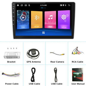 """10.1""""HD Touch Screen Car Android10.0 2 DIN Stereo FM Radio Player GPS Navi 2+32G"""