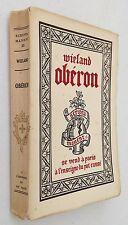 Wieland. Obéron ou les Aventures de Huon de Bordeaux. ill. de Jean Lébédeff 1928