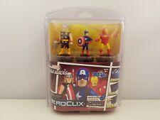 HeroClix TabApp 3 pack | Marvel Super Heroes | THOR | CAPTAIN AMERICA | IRON MAN