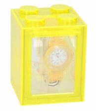 Ice-Watch Women's  Neon Collection Clear Yellow Plastic Watch *used*
