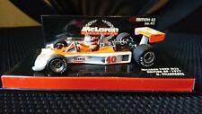 Minichamps 1/43 Gilles Villeneuve McLaren Ford M23 British GP 1977 #40