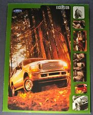 2000 Ford Excursion Truck Brochure Sheet Excellent Original