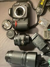 Nikon D D300S 12.3 MP Digital SLR Camera - Black + Lenses 50mm + zoom 70-300