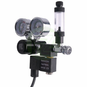 Fzone Aquarium CO2 Regulator Big Dual Gauge with Bubble Counter and Check Valve