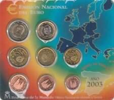 Spanje BU set 2003 / 1 cent - 2 euro KMS