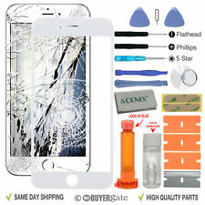 APPLE IPHONE 7 PLUS Outer Front glass Screen Replacement Repair Kit White