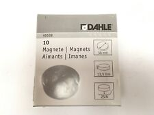 Dahle 38mm Magnet - Blue (Pack of 10)