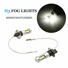 H3 Xenon White LED Car Bulb Headlight Front Fog Daytime Running Light Lamp DRL