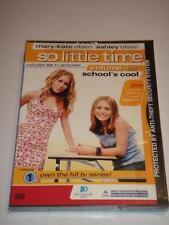 OLSEN TWINS So Little Time VOL. 1 School's Cool Mary-Kate & Ashley Olsen DVD NEW