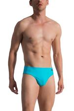 Olaf Benz Men's BLU 1753 Beach Brief Red Turquoise Swimwear