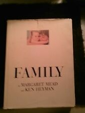 VINTAGE FAMILY: Photo Book  by Margaret Mead & Ken Heyman HB1965 LARGE BOOK