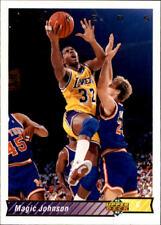 Magic Johnson Upper Deck #32A 1992/93 NBA Basketball Card