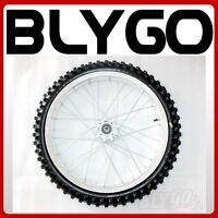 "70/100- 19"" Inch Front Wheel Rim+ Knobby Tyre Tire Trail Dirt Bike Motorcross"