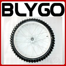 "70/100- 19"" Inch Front Wheel Rim+ Knobby Tyre Tire Trail Dirt Bike Motorcross"