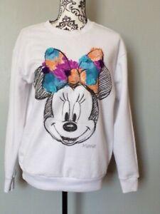 Ladies Disney Minnie Mouse Jumper Size S