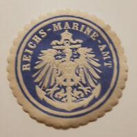REICHS-MARINE-AMT Siegelmarke Vignette (9347-5)