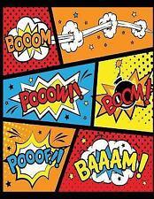 Blank Comic Book: Booom Pooow Boom! : Blank Comic Books for Kids : Best Gift...