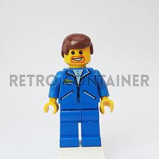 LEGO Minifigures - 1x jbl010 - Man - Jacket Town Omino Minifig Set 8672 Ferrari