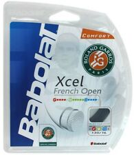Babolat Xcel French Open16g string 40ft Black  (Express Shipping)
