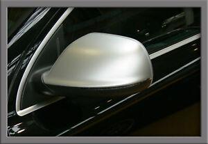 Aluminium Alu Spiegelkappen passt f. Audi Q5 SQ5 8R (08-15) Q7 4L (09-14) Side-A