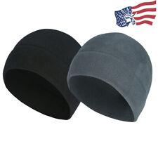 Tactical Military Fleece Beanie Watch Cap Cold Weather Winter Hat Skull Caps