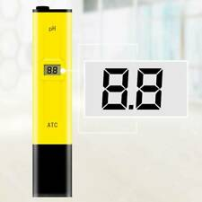 New Digital Electric PH Meter Tester Pen Aquarium Hydroponics Water Test Pen