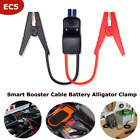 Smart Booster Cable Battery Alligator Clamp Wled Indicator For Car Jump Starter