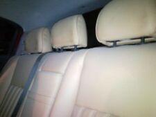 Alfa Romeo 147 5 Door 2002 Cream Leather Rear Seat