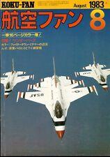 KOKU FAN 8/83 F8F BEARCAT USN AERONAVALE / USAF B-57 / USMC RF-4B / NAS MIRAMAR