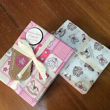 Craft 100% bundle 6 cotton fat quarters - Teddy Bears in Girls Pinks