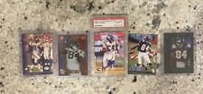 1998 Leaf Rookies and Stars Randy Moss PSA 9 lot FIVE CARDS TOTAL